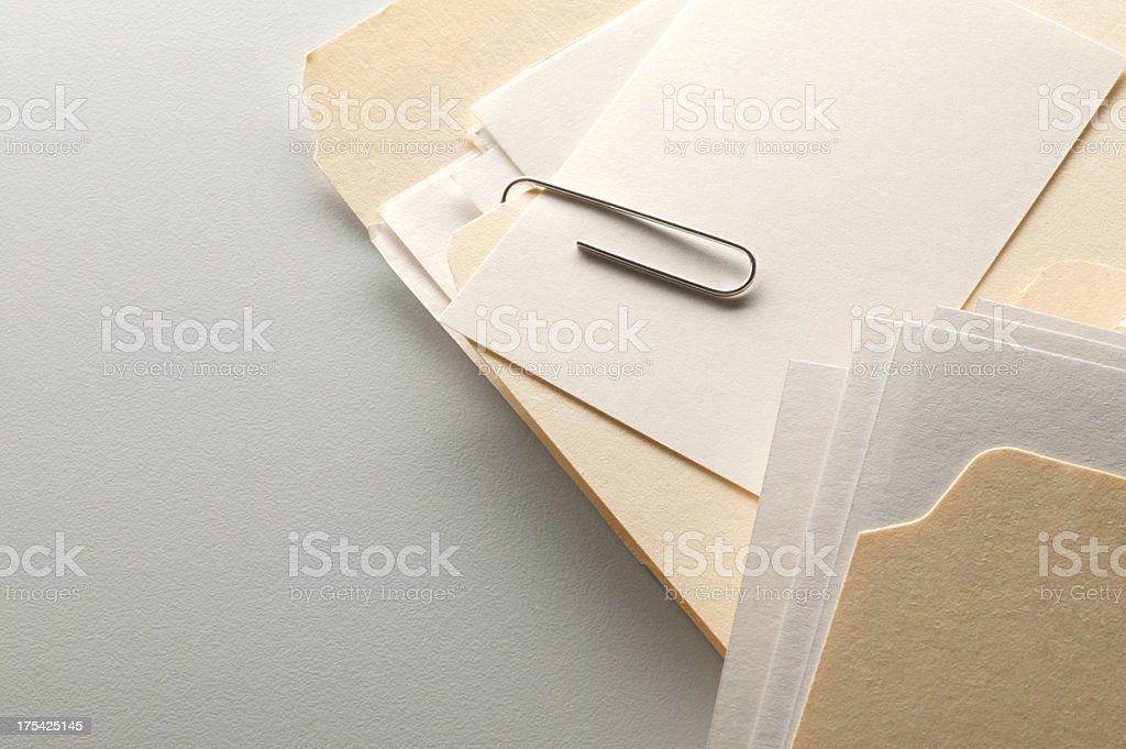 Attachment to File stock photo