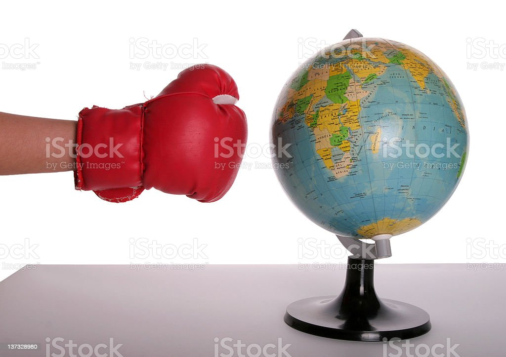 Attack again the Earth royalty-free stock photo