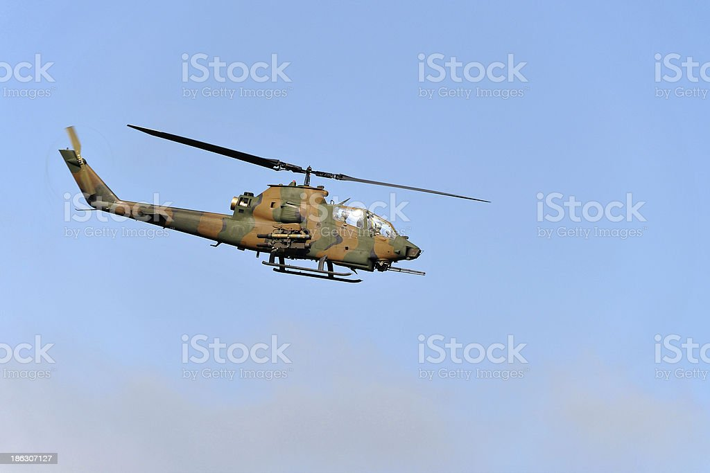 Attack Helicopter royalty-free stock photo