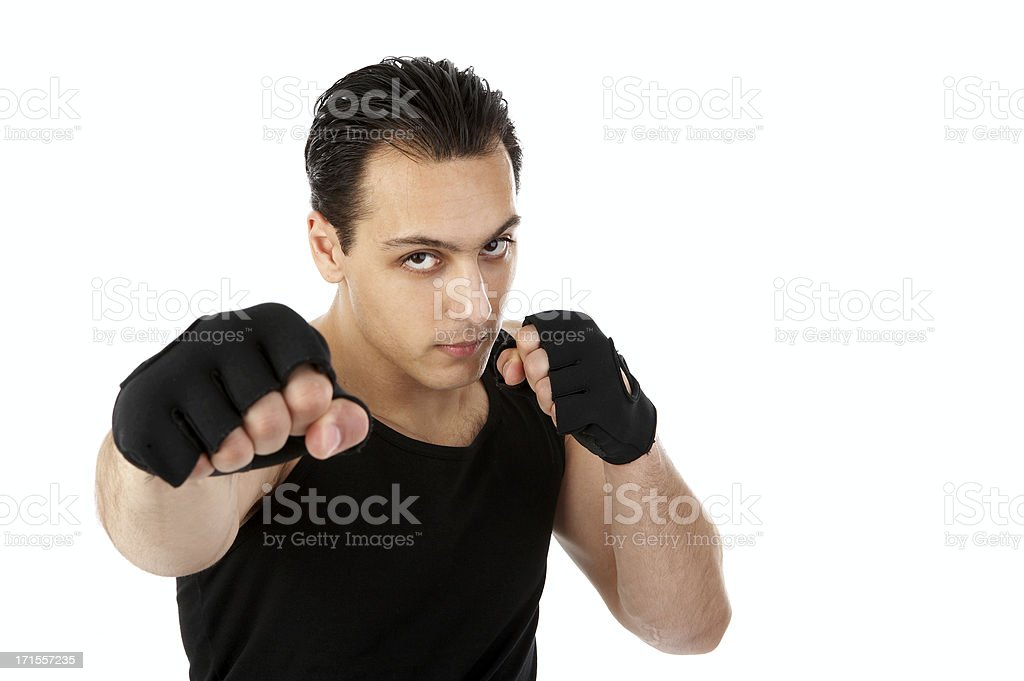 Attack royalty-free stock photo