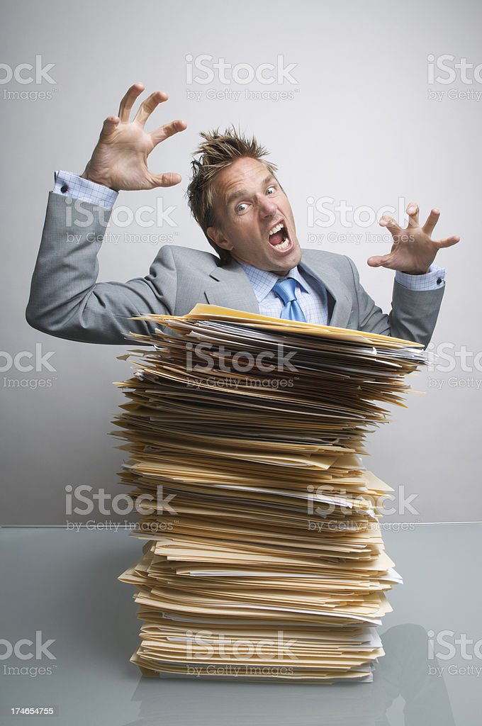 Attack these Files! royalty-free stock photo