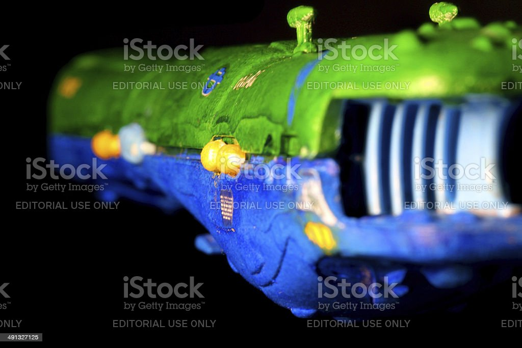Attacking Earth stock photo