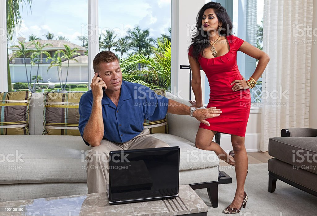 Attention Now royalty-free stock photo