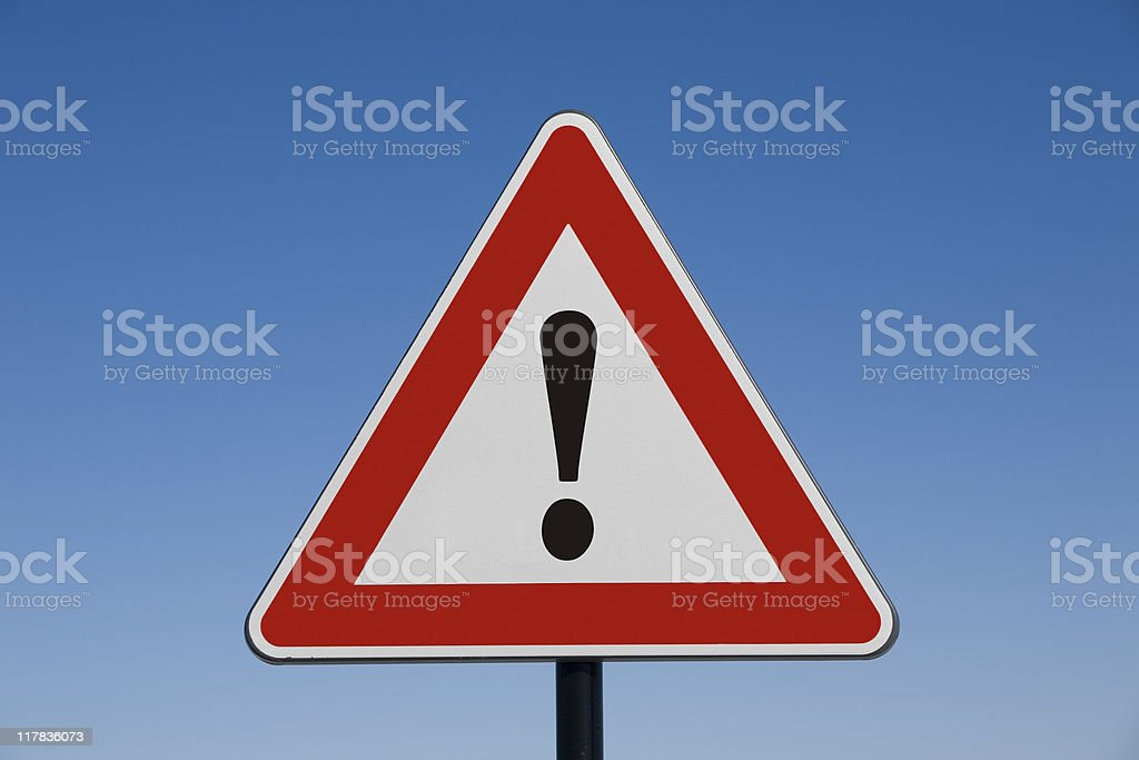 Attention! stock photo