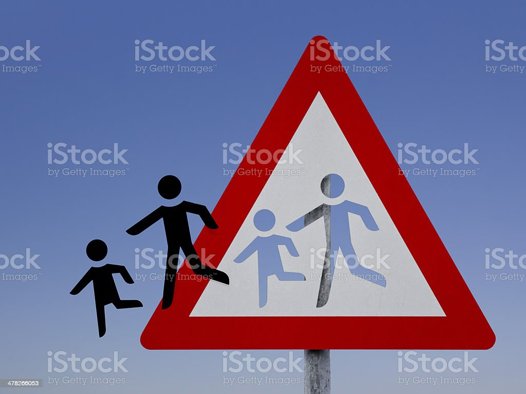 Attention - Playing children royalty-free stock photo