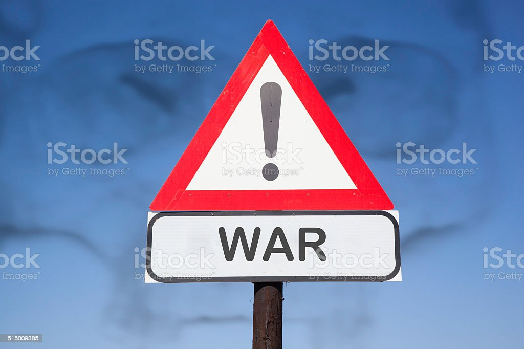 attention war stock photo
