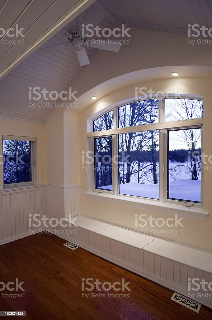attic renovation contemporary home improvement royalty-free stock photo