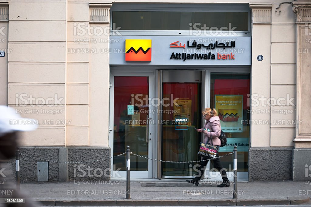 Attijariwafa Bank stock photo