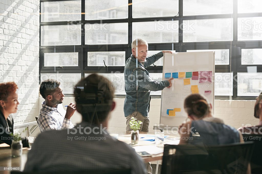 Attitude reflects leadership stock photo