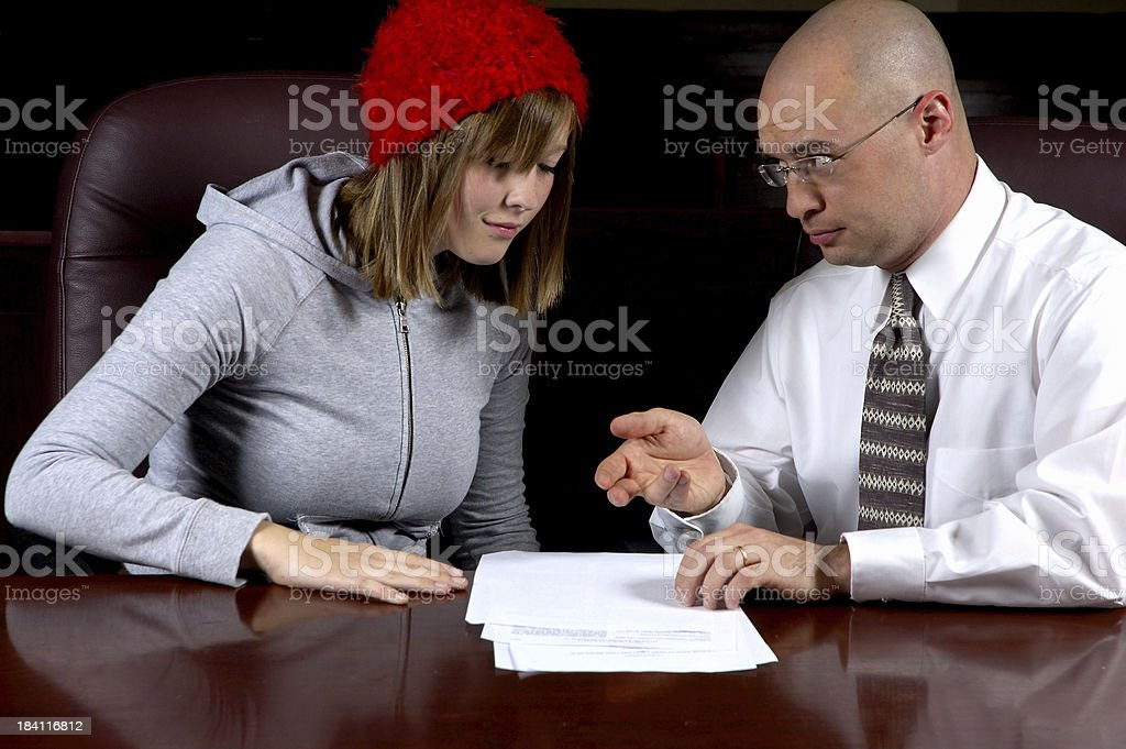 Attorney  Client  Privilege royalty-free stock photo