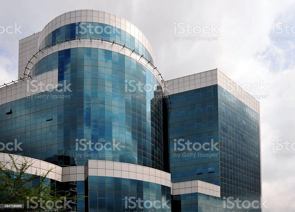 Attorney General of Botswana building, Gaborone stock photo