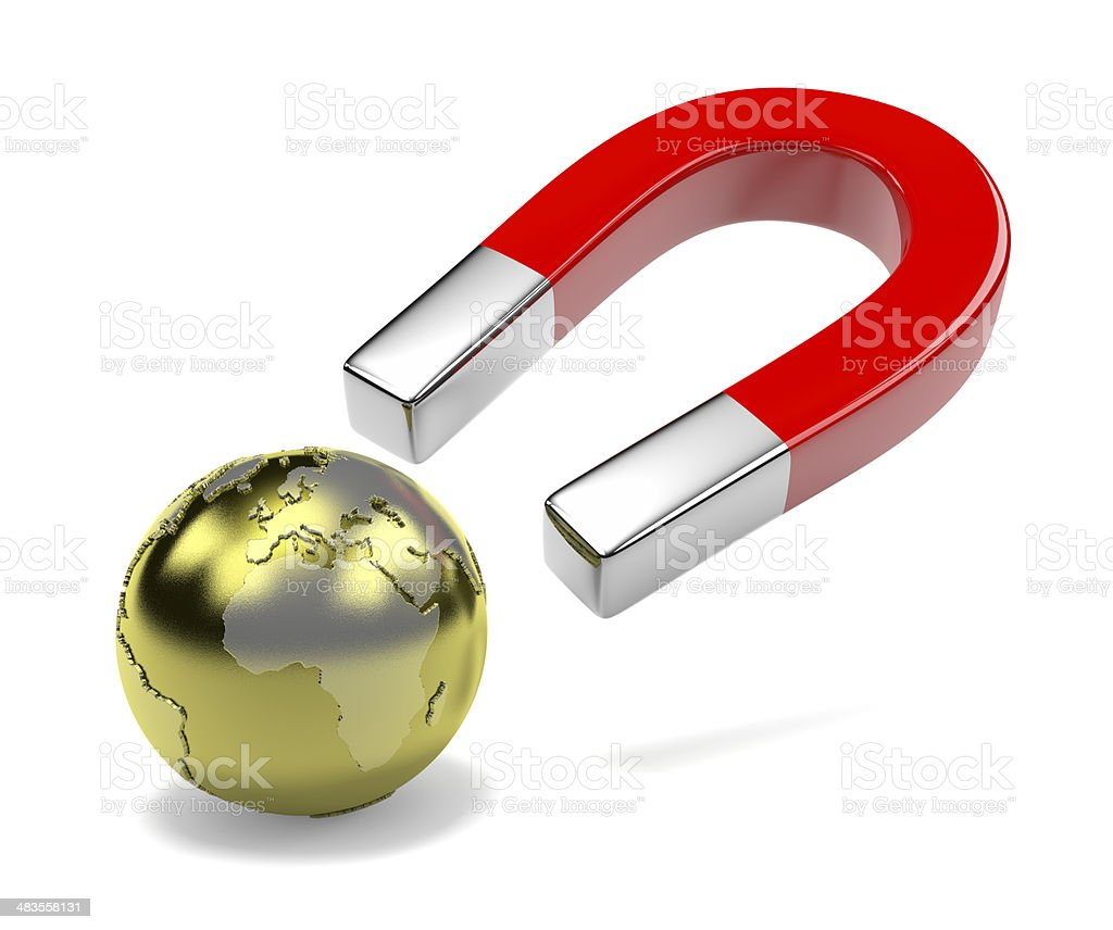 Attract the World stock photo