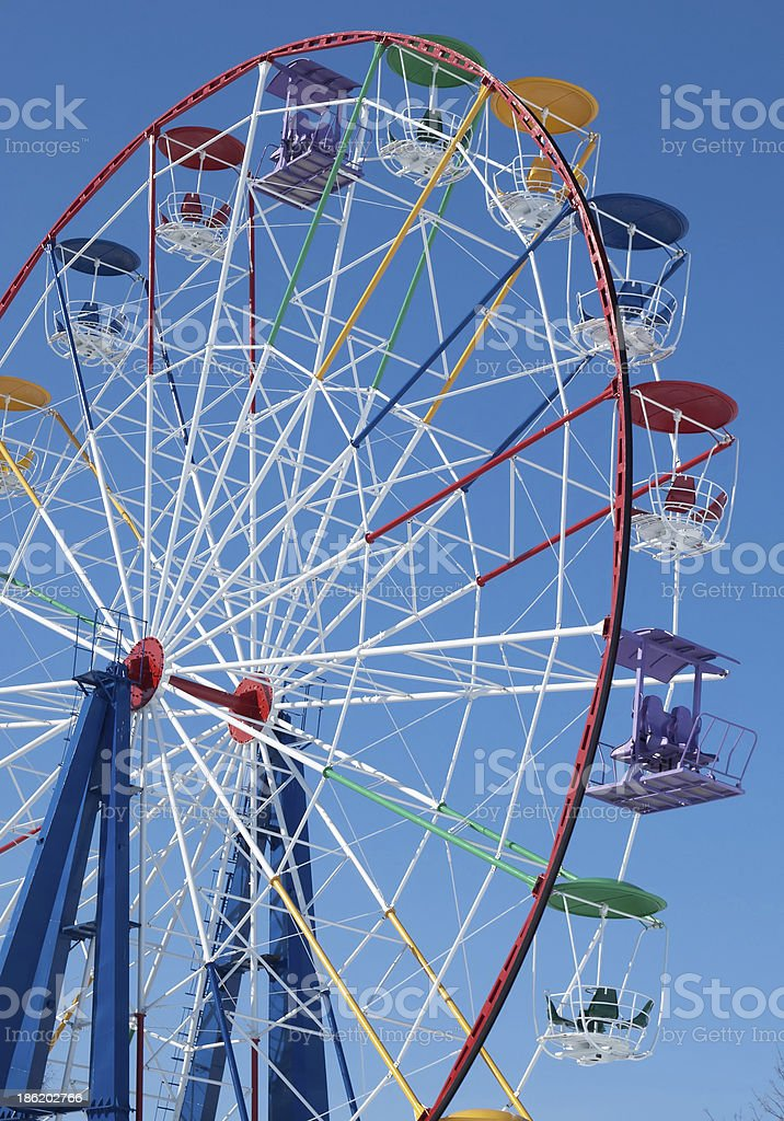 Attraction Ferris wheel royalty-free stock photo