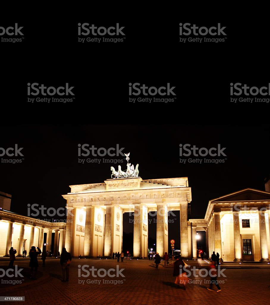 attraction of berlin royalty-free stock photo