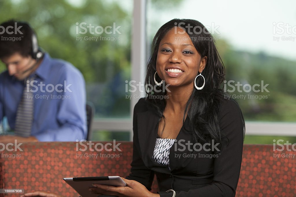 Attractive African American Female royalty-free stock photo