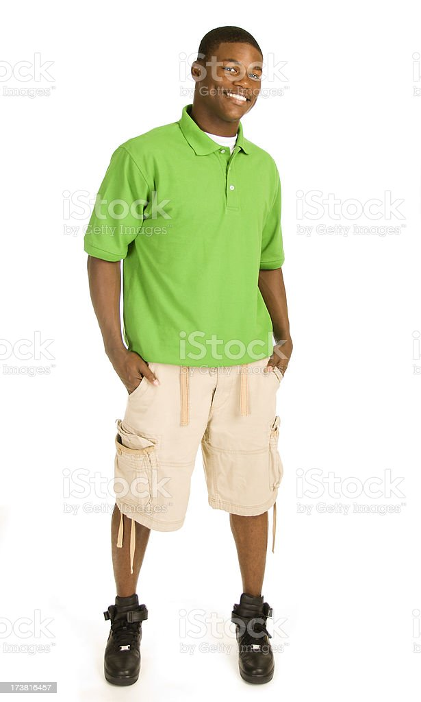 Attractive African American Male royalty-free stock photo