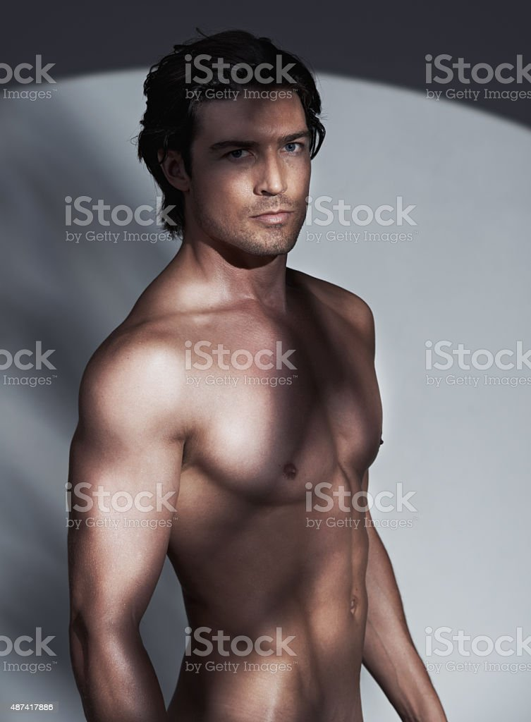 Attractive and confident stock photo