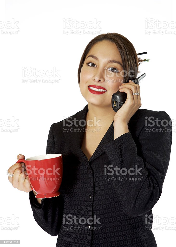 Attractive Asian Business woman royalty-free stock photo