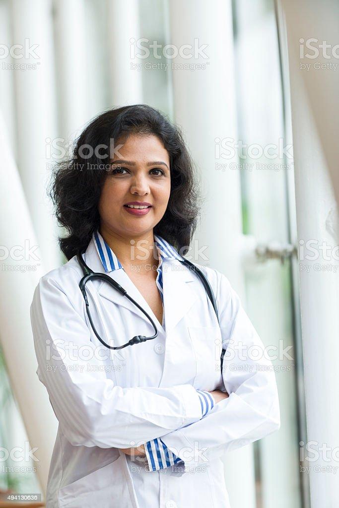 Attractive Asian Health Care Professional stock photo