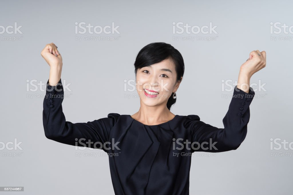 attractive asian woman image stock photo