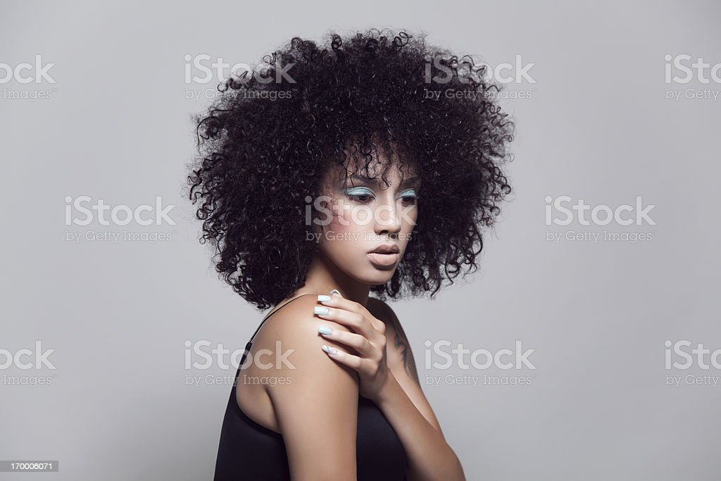 Attractive beauty stock photo