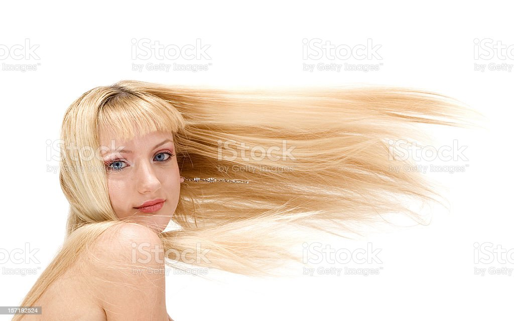 Attractive Blonde royalty-free stock photo