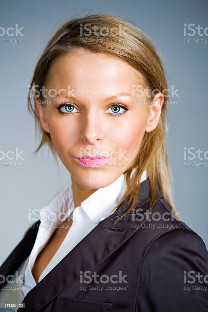 Attractive business female royalty-free stock photo