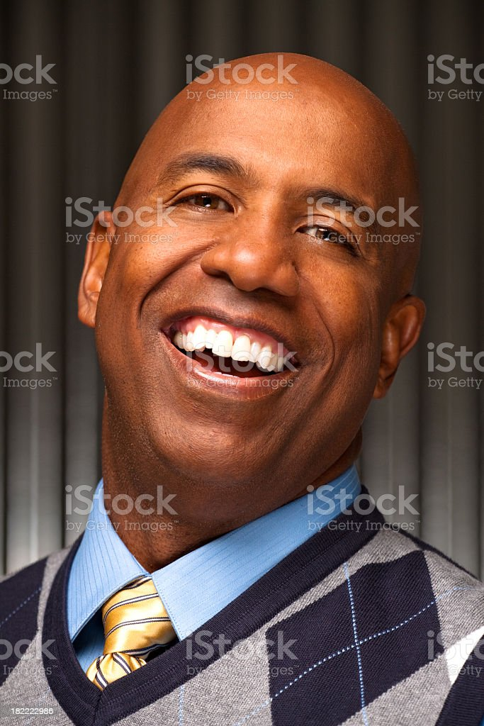 Attractive Business Man royalty-free stock photo