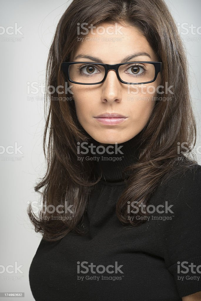 Attractive Business Woman (XXXL) royalty-free stock photo