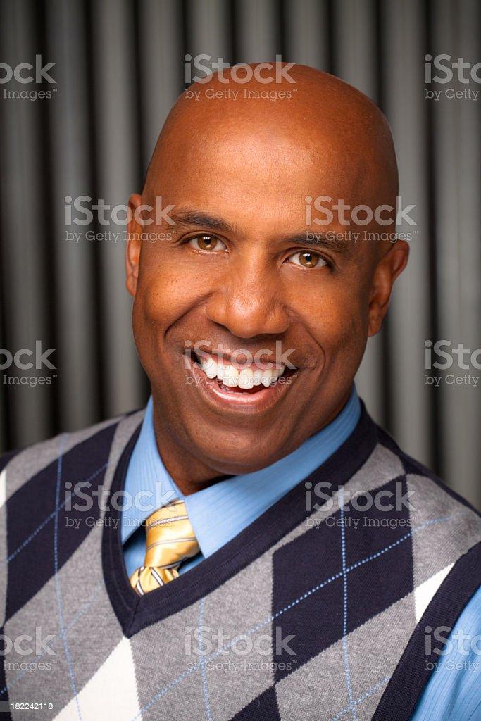 Attractive Businessman stock photo