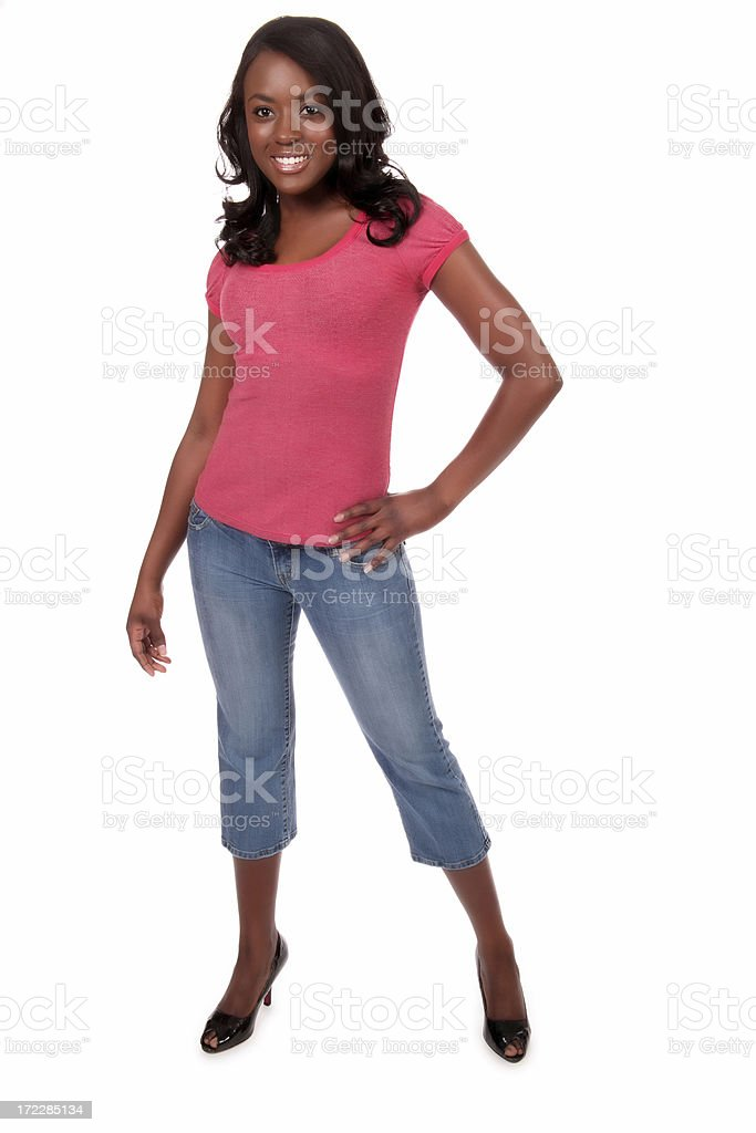 Attractive Casual Woman stock photo