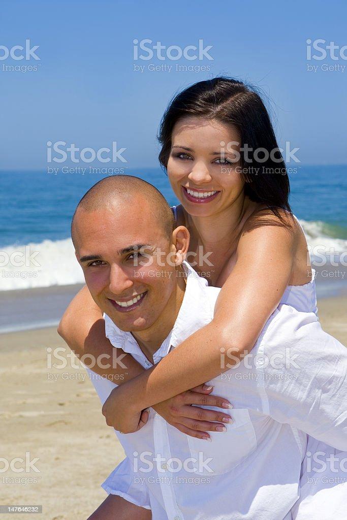 Atractiva pareja foto de stock libre de derechos
