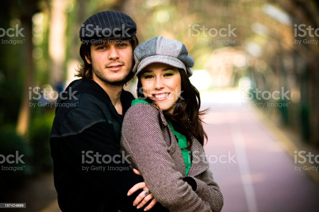 Attractive couple... royalty-free stock photo
