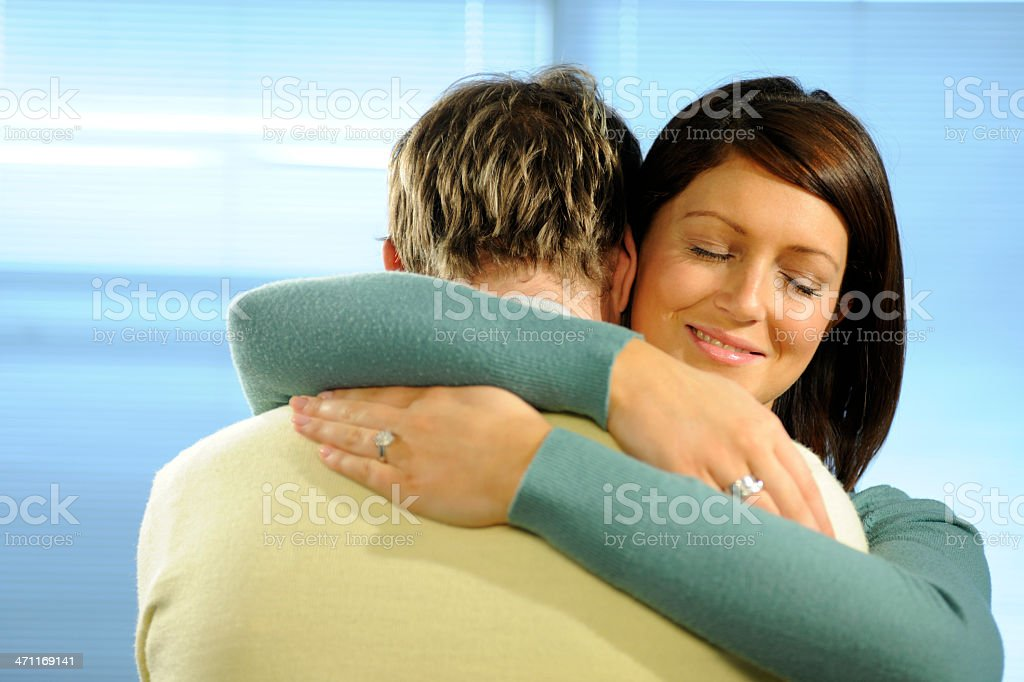 attractive couple royalty-free stock photo