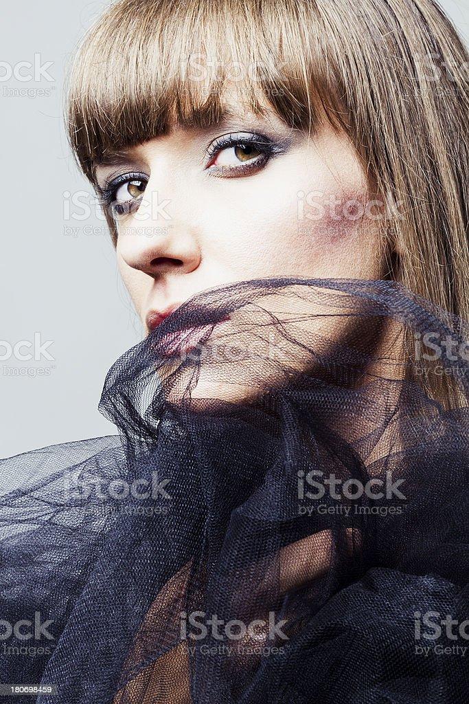 Attractive diva stock photo