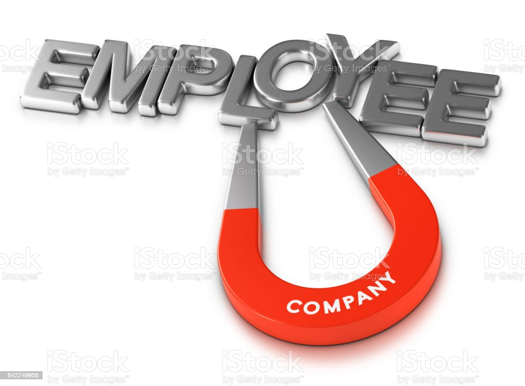 Attractive Employer and Employees Retention Program stock photo