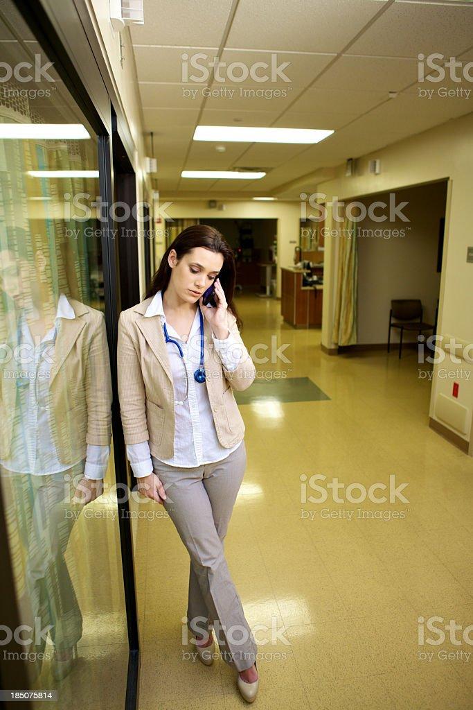 Attractive Female Doctor stock photo