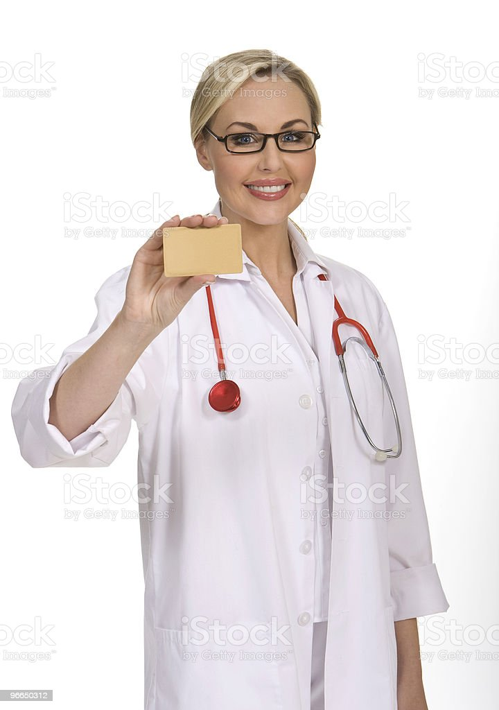 Attractive Female Doctor royalty-free stock photo