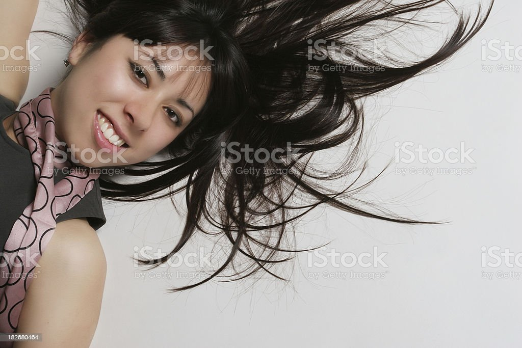 Attractive female royalty-free stock photo