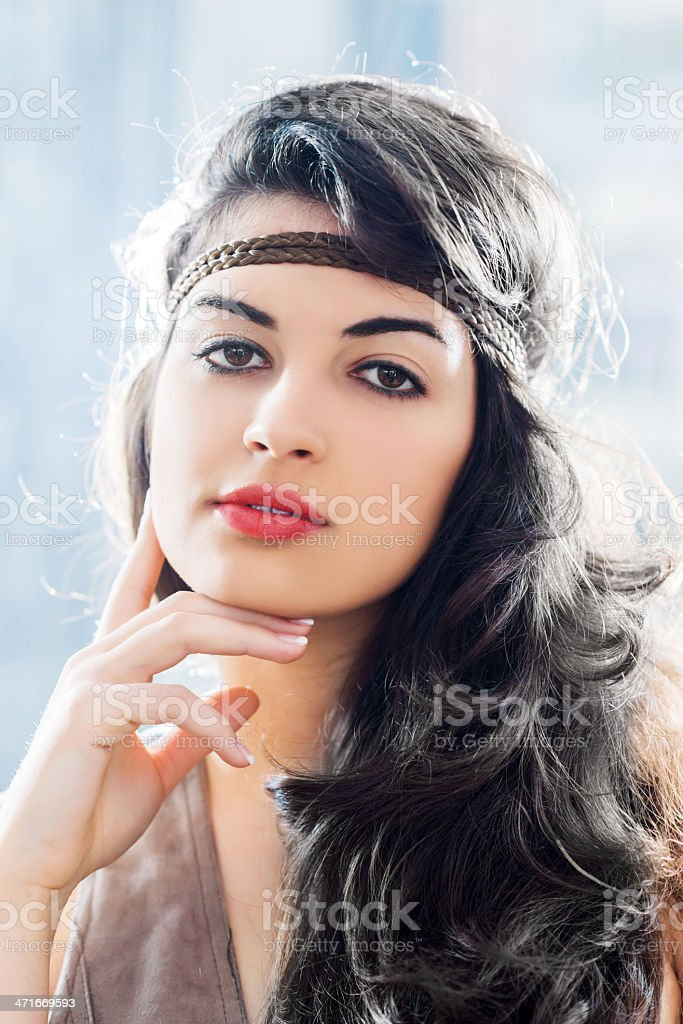 Attractive female. royalty-free stock photo