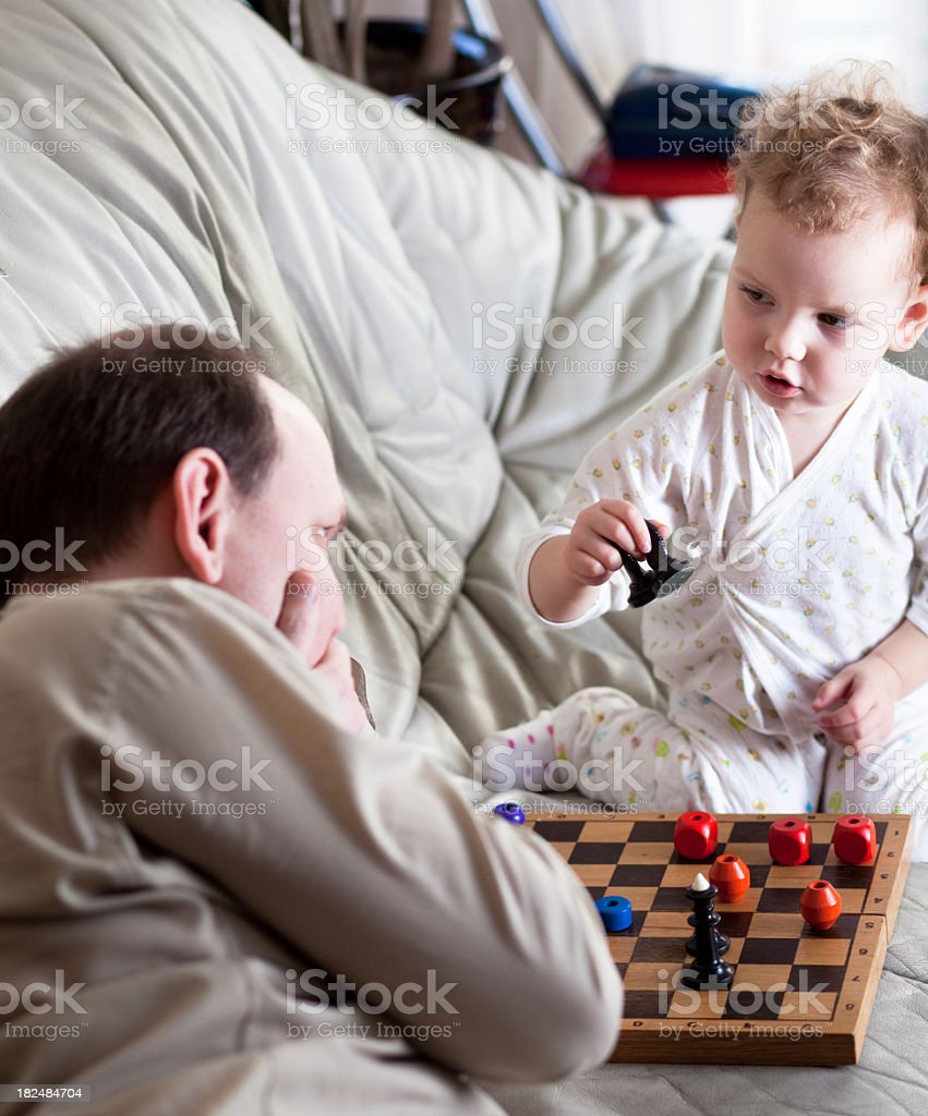 Attractive game royalty-free stock photo