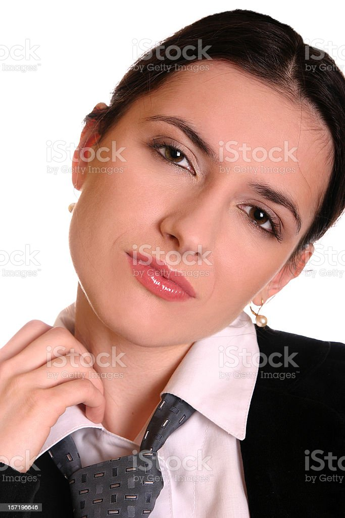 Attractive girl royalty-free stock photo