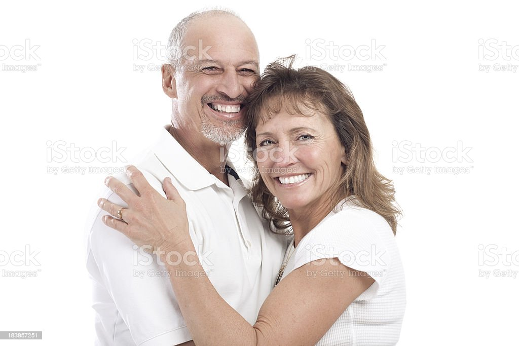 Attractive Happy Mature Couple royalty-free stock photo