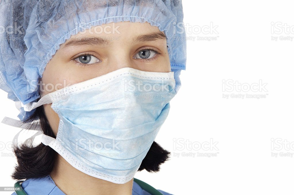 Attractive Lady Doctor royalty-free stock photo