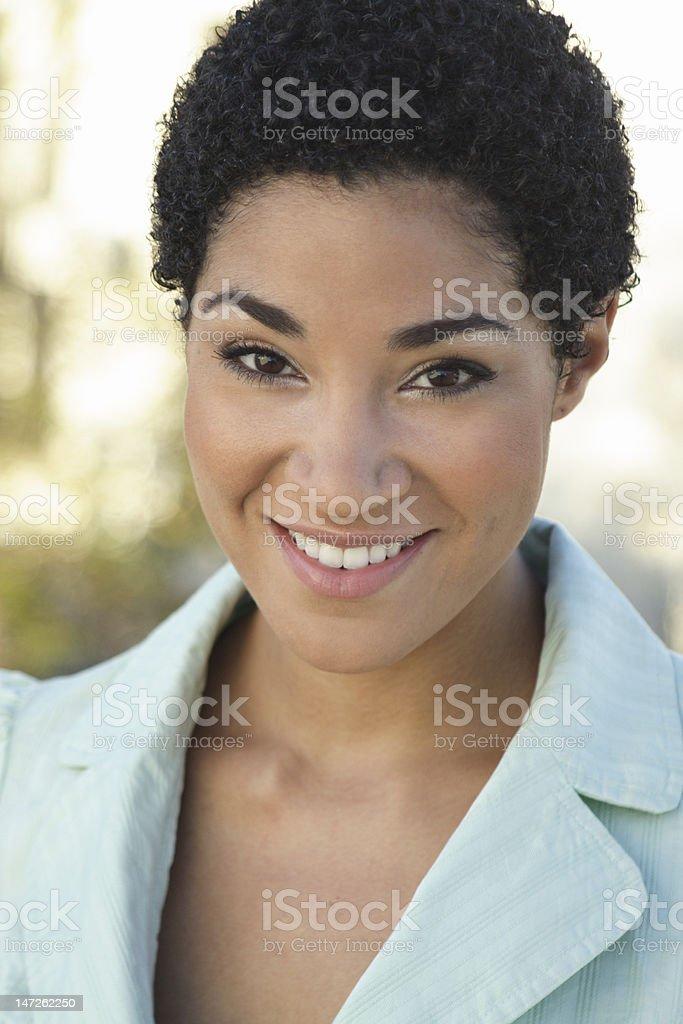 Attractive Lady stock photo