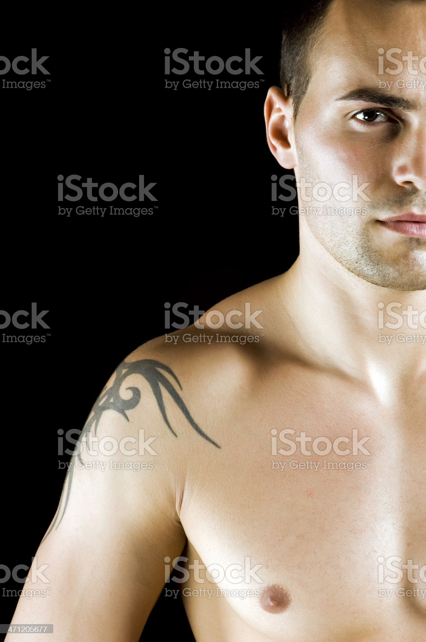 Attractive Male royalty-free stock photo