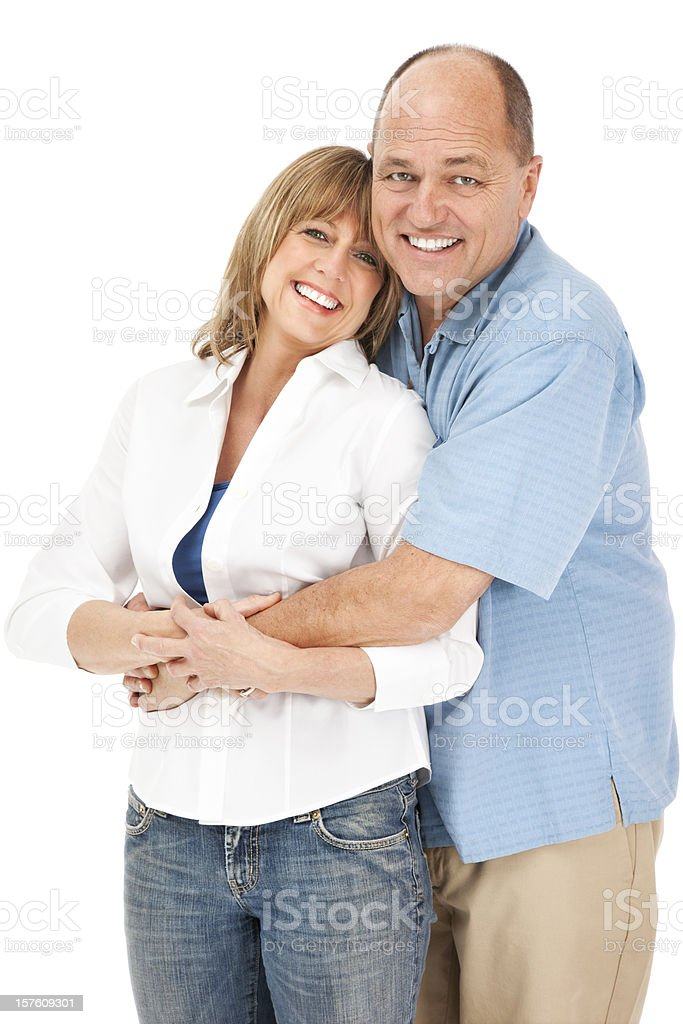 Attractive Mature Couple stock photo