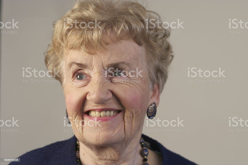Attractive mature woman royalty-free stock photo