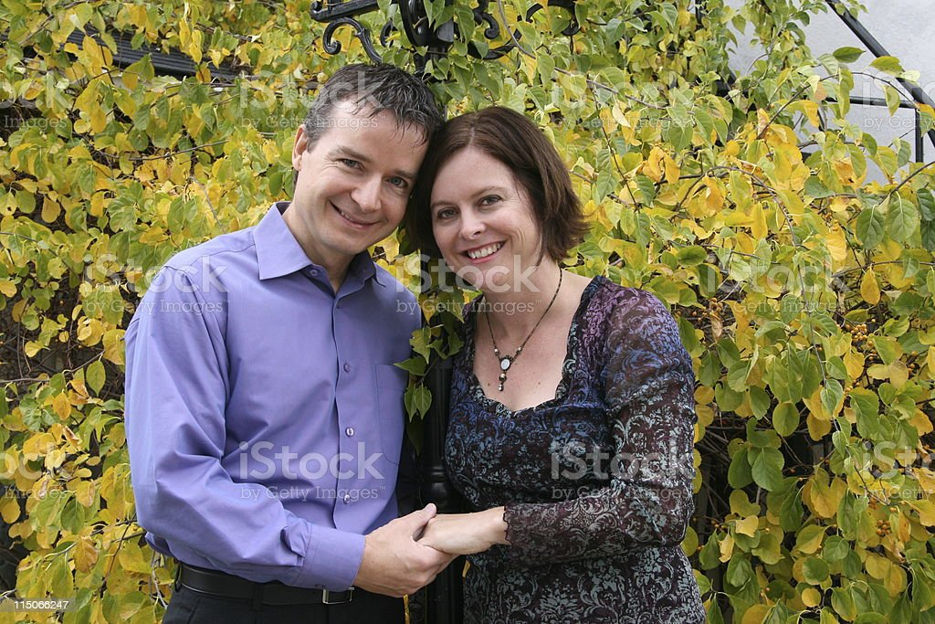 Attractive Middle-aged Couple royalty-free stock photo