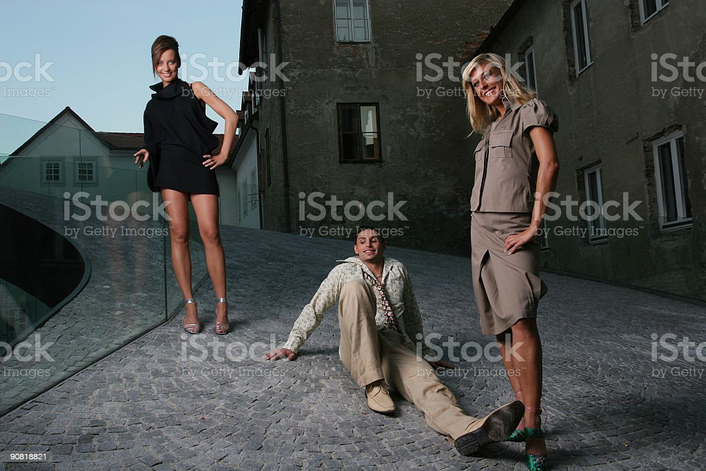 Attractive people royalty-free stock photo